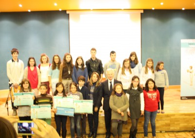 Ganadores V Concurso de Lectura en Público 2012