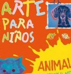 El arte para niños- animales