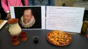 Cervantes, también en la muestra gastronómica de nuestro Día del Centro.