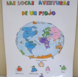 """""""LAS LOCAS AVENTURAS DE UN PIOJO"""""""