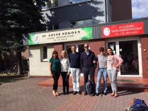 Profesores del CDSA realizan su primer job shadowing en Polonia
