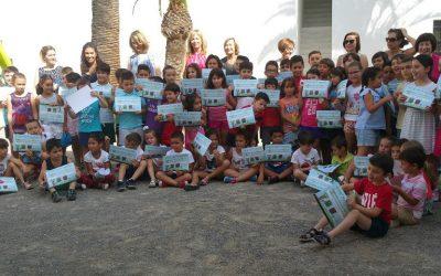 Casi 35.000 escolares consiguen su diploma de 'Familia lectora' tras concluir la Campaña Leer en Familia