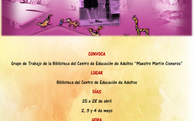 El CEPA 'Maestro Martín Cisneros' celebra la tercera edición de su Concurso de lectura en público y homenajea a Gloria Fuertes